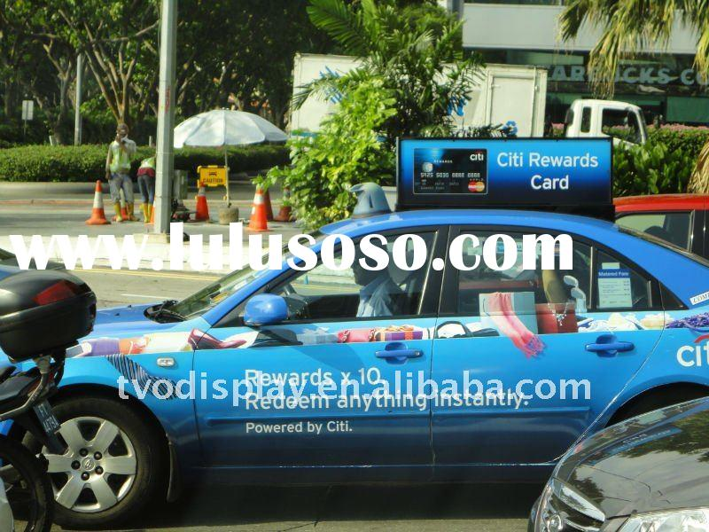 Outdoor Taxi Advertising LED Display Screen