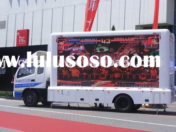 P10 Outdoor Mobile LED Advertising Truck S