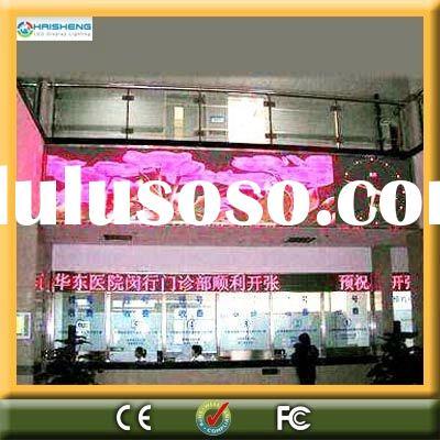 P10 indoor LED digital Display screen/full-color LED advertising display/led ticker display sign
