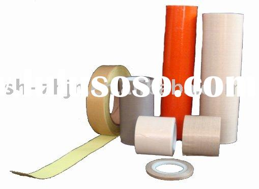 PTFE Impregnated Fiber Glass Cloth Tape with Silicone Adhesive