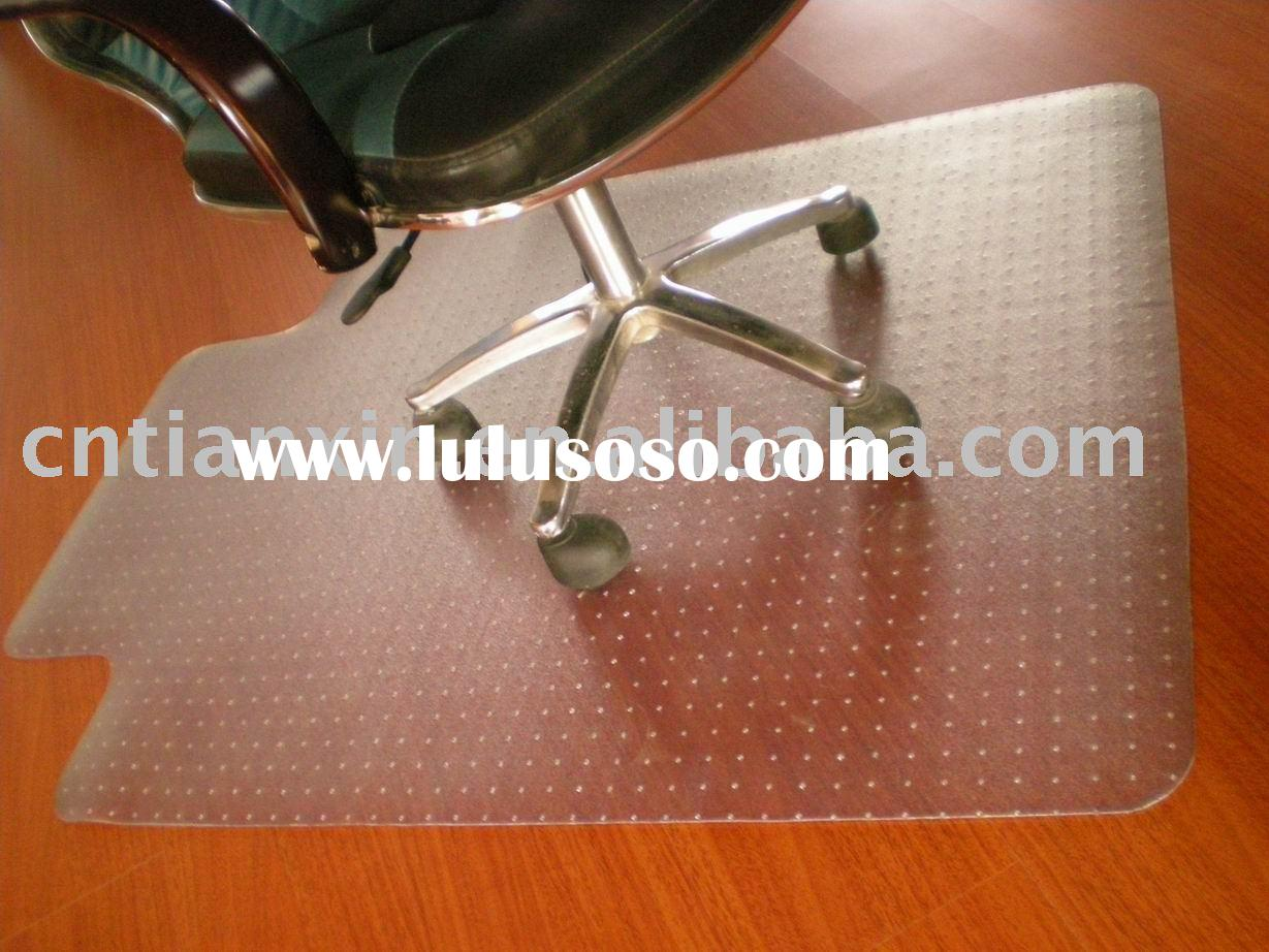 PVC chair mat for hardwood floor and carpet