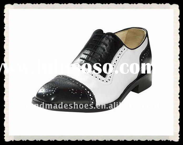 2015 NEW Spring Genuine Patent Leather Platform Oxfords Women Brogues Vintage Flats British Female Rubber Sole