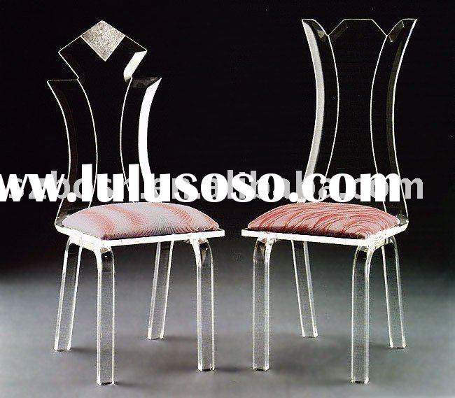 Plastic Chair, Acrylic Chair, Plexiglass Furniture