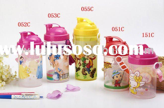 Plastic printed water bottles for kids