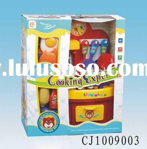Play toy kitchen set