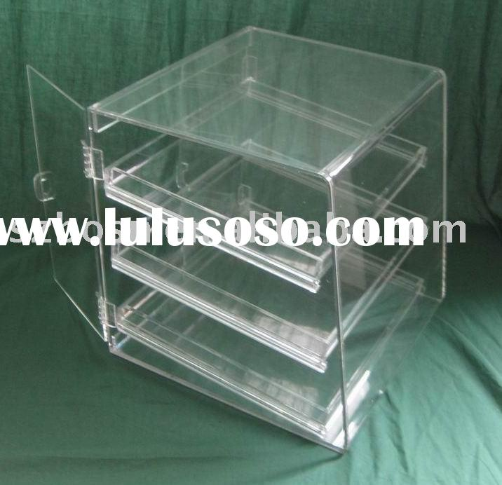 Plexiglass Food Display,Acrylic Bakery Case,Plastic Box,Acrylic Display Rack,Acrylic Box