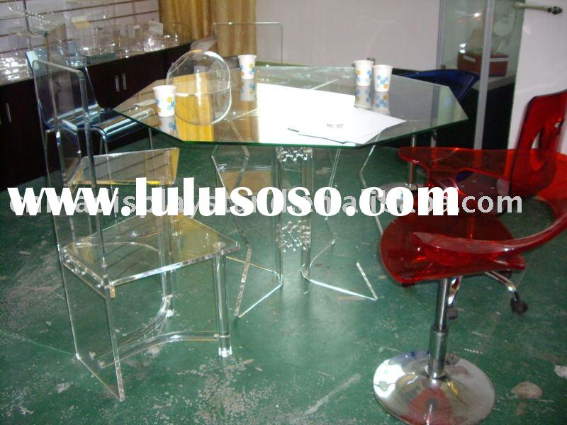 Plexiglass furniture, lucite furniture, acrylic furniture, perspex furniture