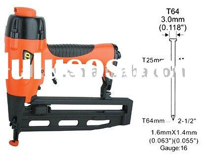 Pneumatic Nail Gun - T Nailer - T64. Dimensions:320x76x300mm Weight:1.54kg