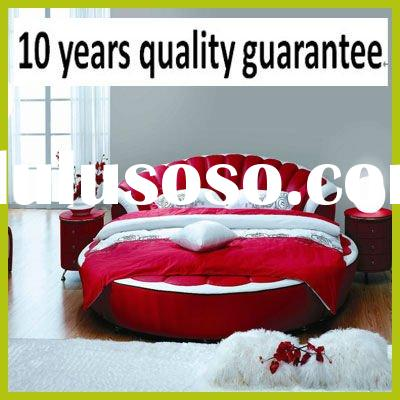 Sears King Size Beds Sale on Popular Modern Leather King Size Round Bed Supplier