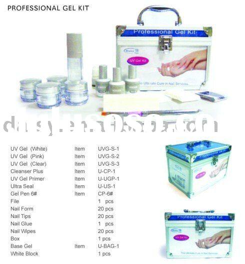 Professional Uv Gel Kit-nail art