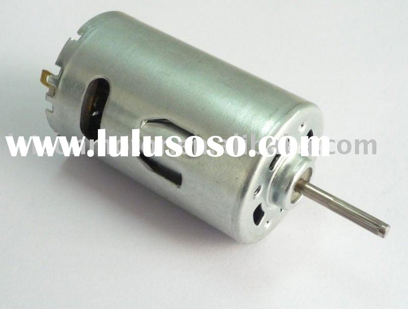 RS-555 12v brush high speed dc motor