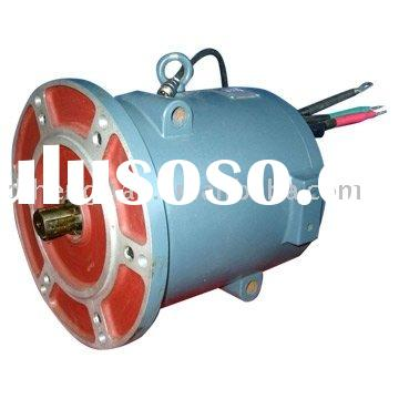 Rare-earth permanent magnet brushless DC motor