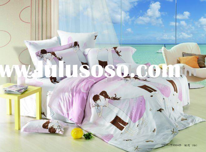Romantic twin bedding set