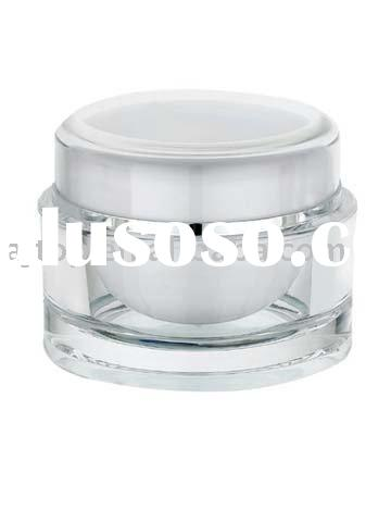 Round Acrylic Cosmetic Jar/Cosmetic Container(15g/30g/50g)