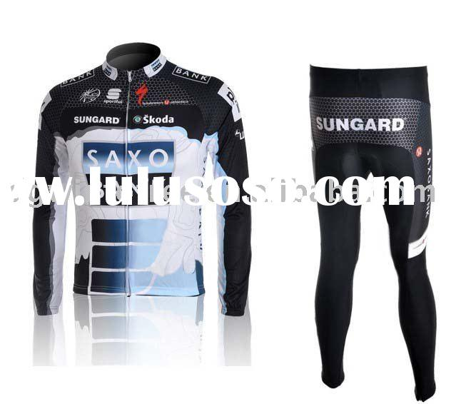 SAXO BANK cycling clothing, cycling clothes,cycling wear