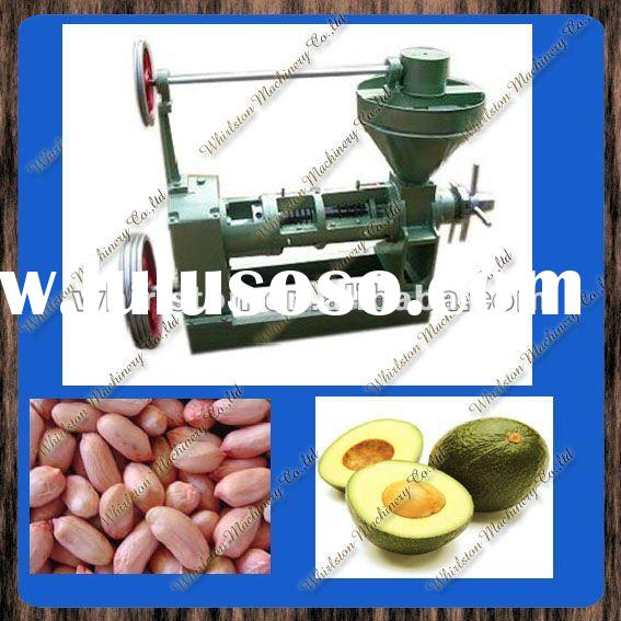 Screw oil press for peanut ,rapeseed,sunflower seeds 117