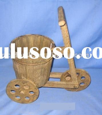 Sell wooden planter,flower pot,garden ware,wooden flower pot,garden item,wooden craft,arts and craft