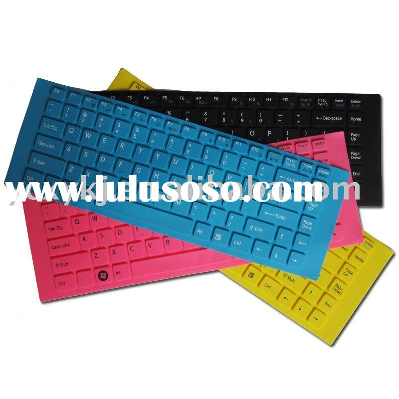 Silicone laptop KeyBoard Cover Case Skin Protector Cover protection film For Sony EA for VAIO EA