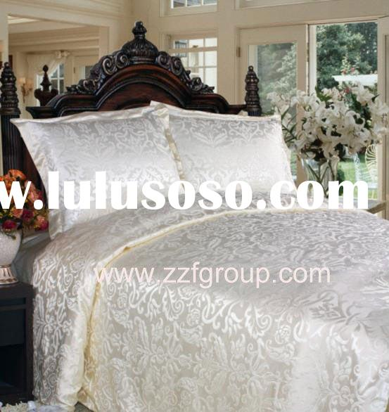 Silk cotton bedding set