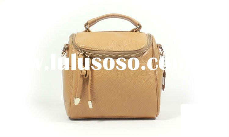 Simple fashion ladies handbag leather bag camera bag