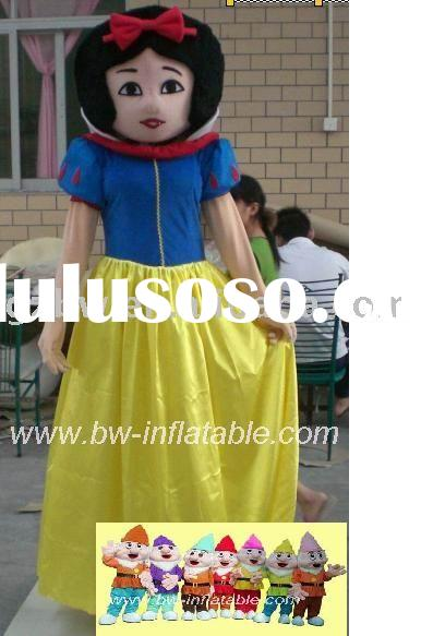 Snow White and the Seven Dwarfs costume/mascot costume/character costume