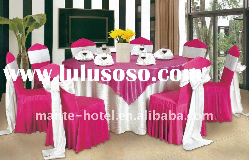 Special design for the wedding chair cover