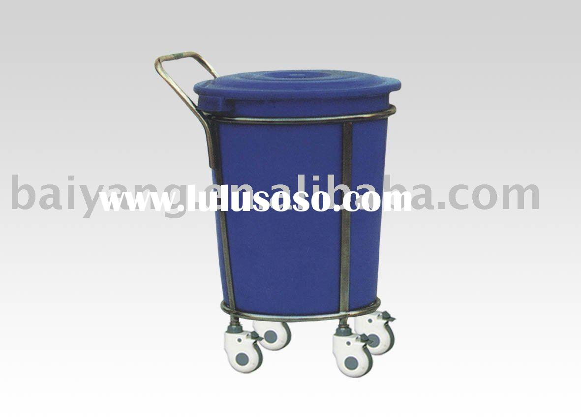 Stainless steel trolley for water bottle