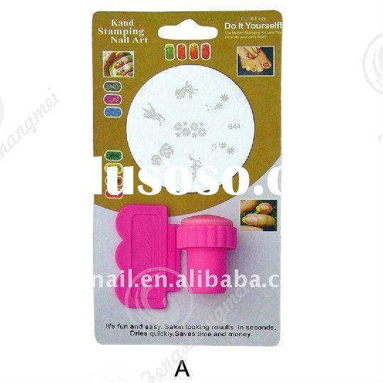 Stamping Nail Art Kit (one stamper+one scrapper+one image plate)