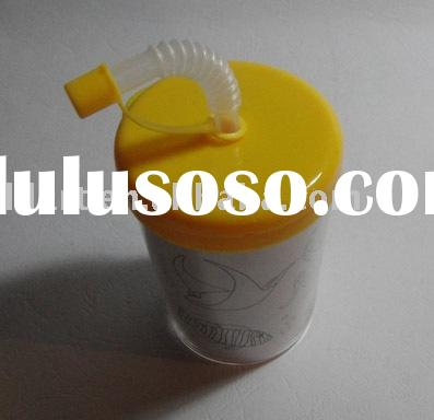 Straw bottle for kids/bottle/pet bottle/plastic bottle