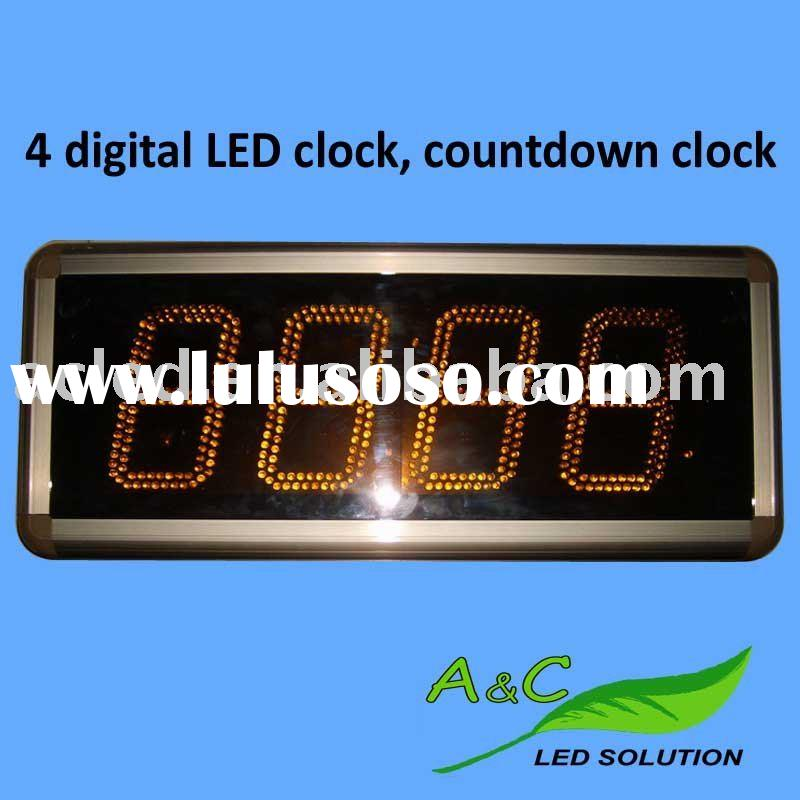 Supply Indoor outdoor LED Digital Timer for Time,Date,Temperature,Clock