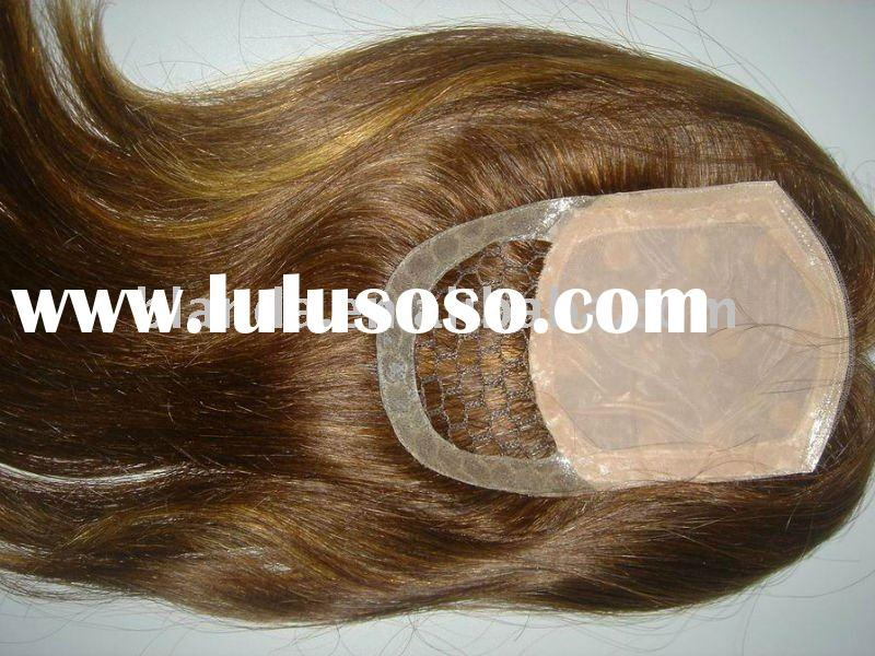 Swiss Lace Silk Top Closure Hair Piece