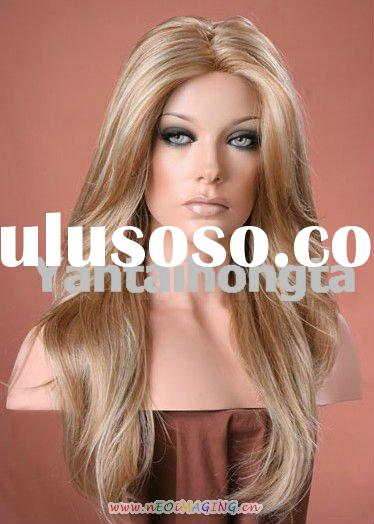Synthetic wig lace front wig