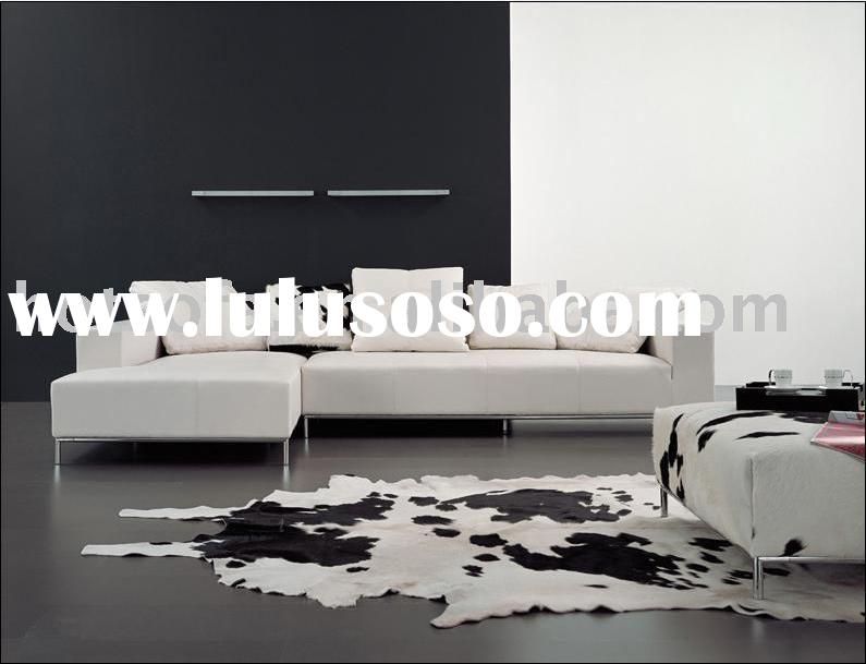 T879 furniture italian leather sofa ,corner sofa ,modern sofa, chaise lounge sofa