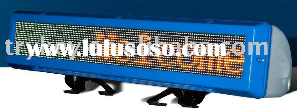 Taxi Tops LED Advertising Billboard Display Sign