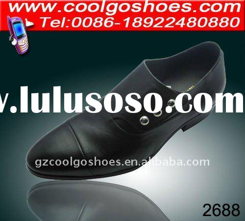 Top quality mens dress shoes in spainish design 2012 hot selling