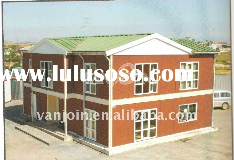 Two Storey steel structure modular homes prefab house