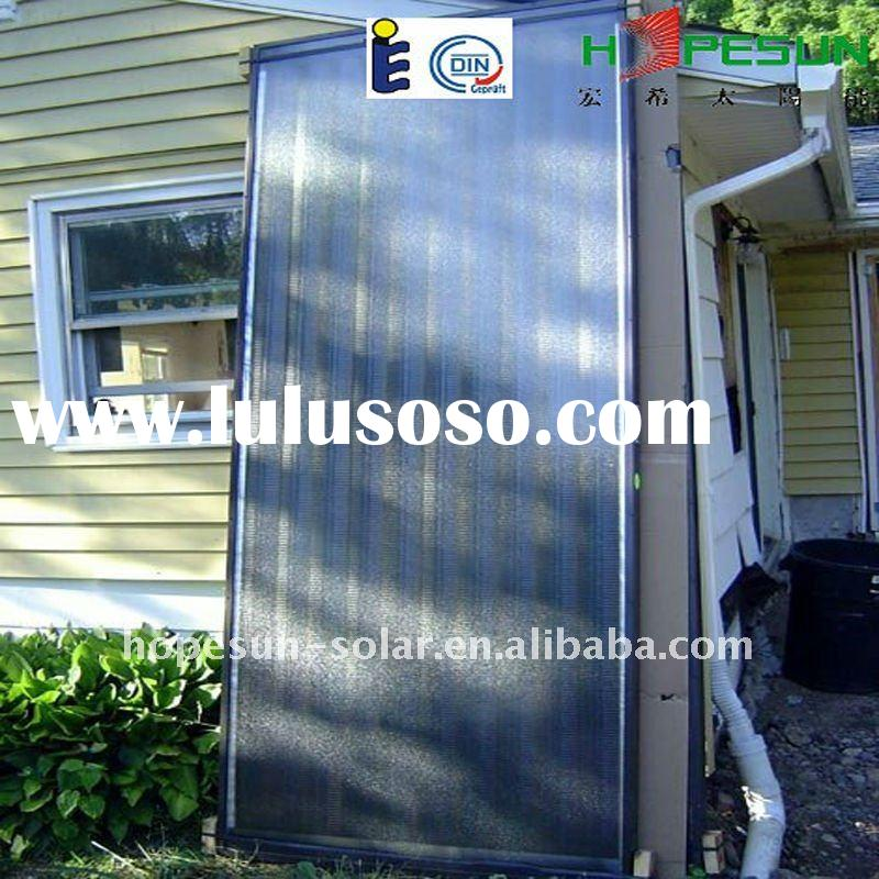 Ultrasonic welding flat Solar thermal Collector