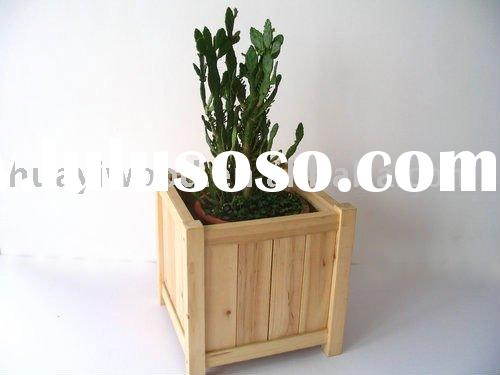 Unfinished Wooden Flower Boxes, Garden Planters, Window Boxes