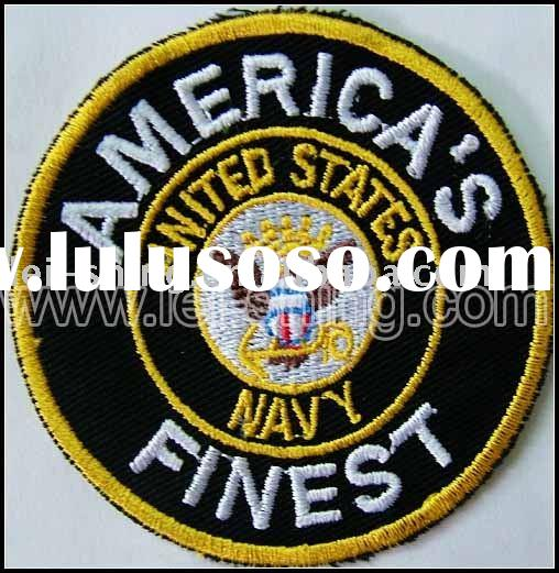 United States navy felt embroidery badge
