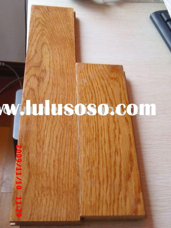 White oak wood flooring(Gunstock wood floor,solid wood floor)