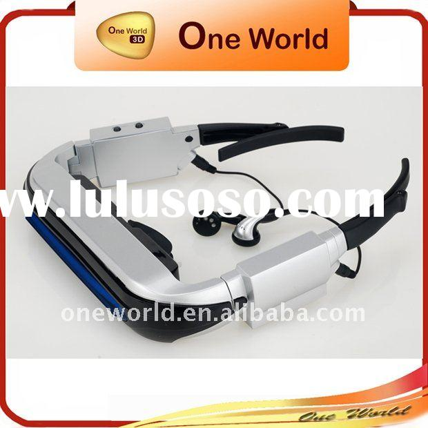 Wireless 3d video glasses	,video cinema,Video Eyewear,Mobile Theatre,Video Glasses,Fashion video gla