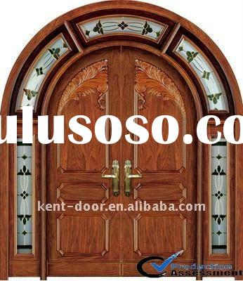 Wood door,Entry door (W9308),exterior villa door