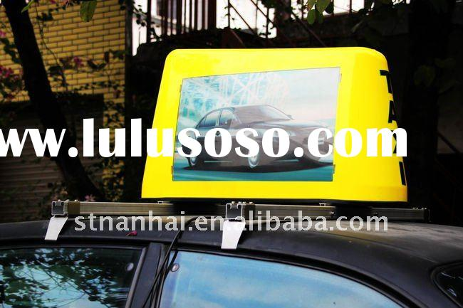 ZHD1-009 Taxi light box with scrolling advertising