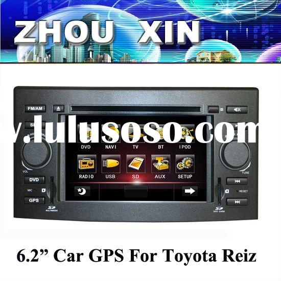 (Toyota VITZ) 6.2 inch two din Car DVD Player with GPS,bluetooth