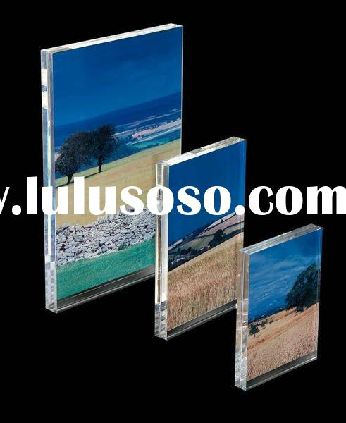 acrylic picture frame holder stand display