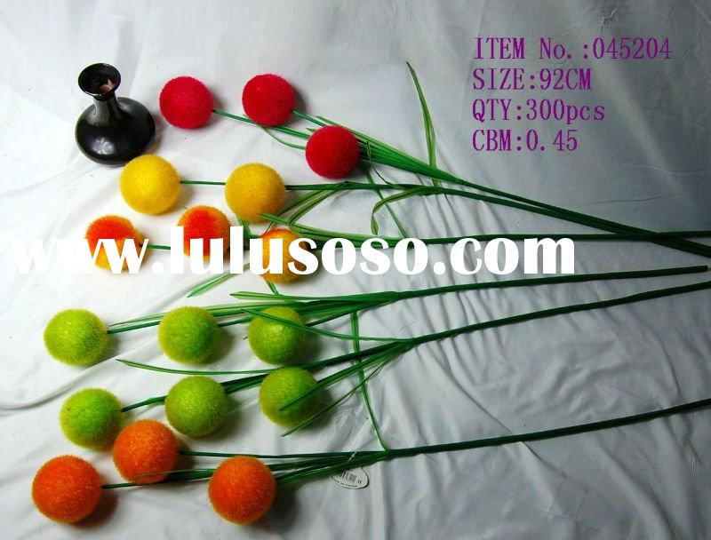all types of artificial ball flower
