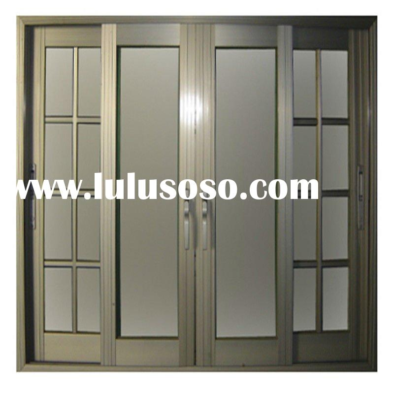 aluminum sliding window with grille