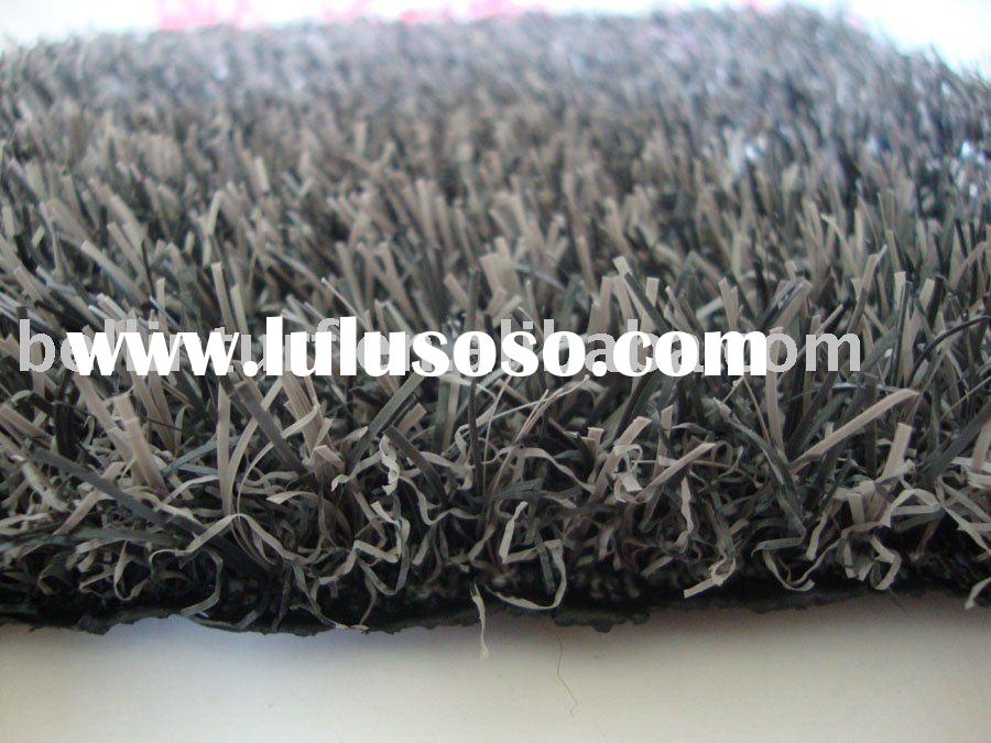 artificial grass carpet-grey