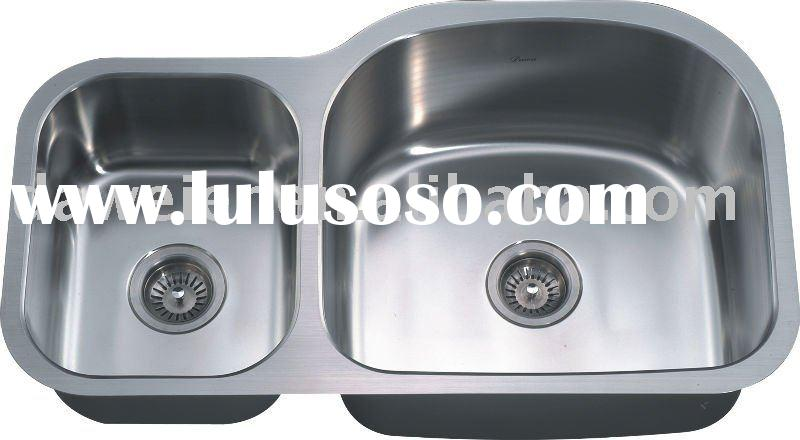 cUPC Certificate Undermount Double bowl kitchen sink ASU107 L