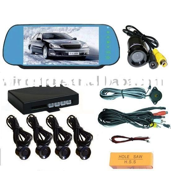 """car rear view cameras with screen - 7"""" screen monitor rear camera system for truck and big car"""